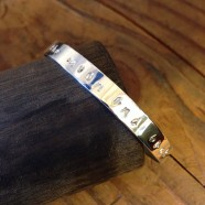 """""""To the moon and back"""" custom cuff"""